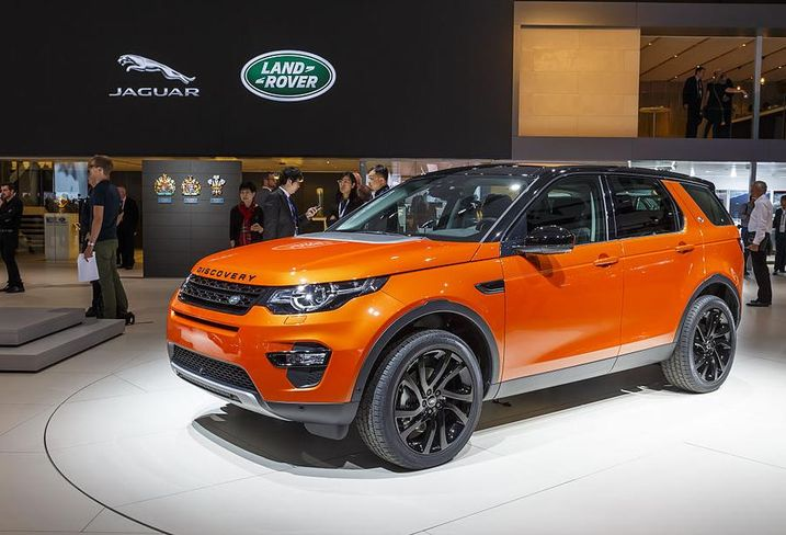 Land Rover electric vehicle
