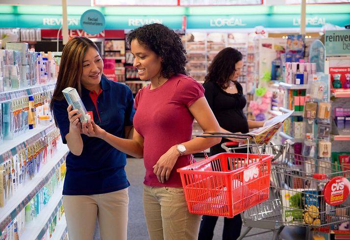 CVS shoppers