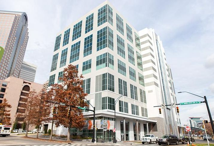 300 South Brevard underwent a $15M renovation and now includes options for two lower-level floors of retail and dining.