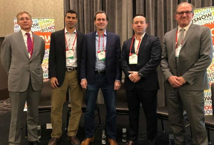 Pircher, Nichols & Meeks Partner Gene Leone, Shapack Partners Principal Seth Halpern, R2 Cos. Chief Operating Officer Marc Garrison, Riverside Investment & Development Executive Vice President Anthony Scacco and HED Principal Mike Sullivan