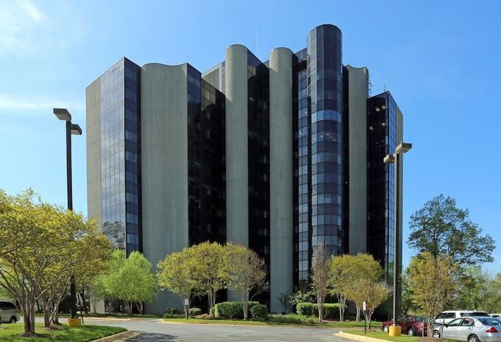 The Metro Plex I office building at 8201 Corporate Drive in Landover, Maryland