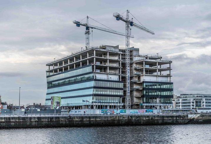 New Central Bank building Dublin