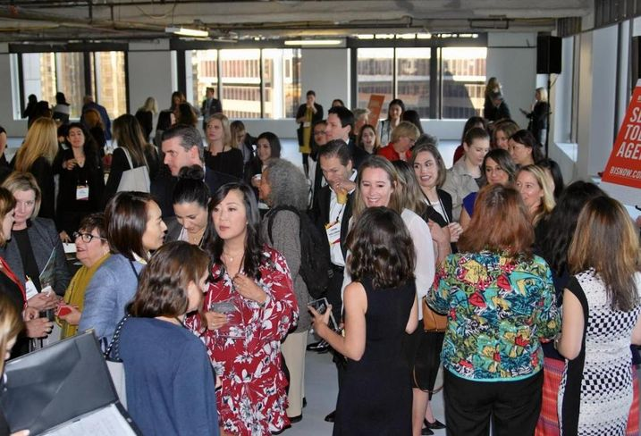 More than 220 people attended Bisnow's LA Power Women Series: Leaders In Commercial Real Estate held Dec. 13, 2017 at the Bank of America Plaza in downtown Los Angeles.