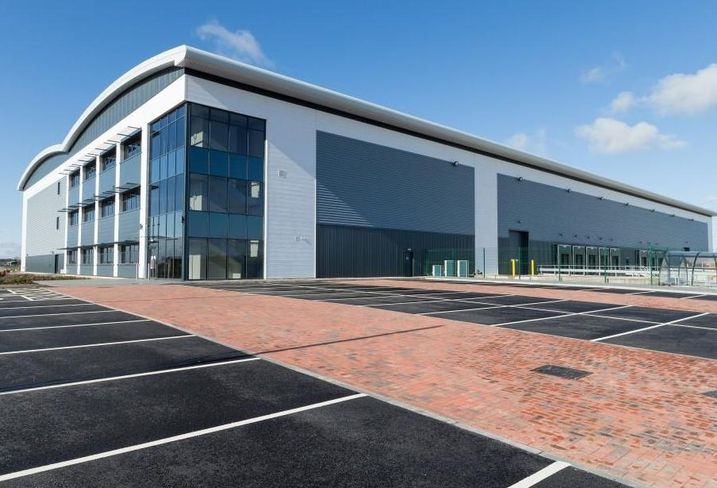 St Modwen's  280-acre Burton Gateway logistics development, Staffordshire
