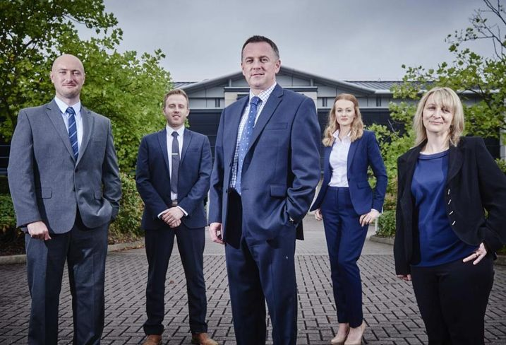 Richard Pitt, Richard Knight, Jonathan Dyke, Marianne Horton and Sarah Milward from IM Land, the strategic land subsidiary of Midlands developer IM Properties, UK.