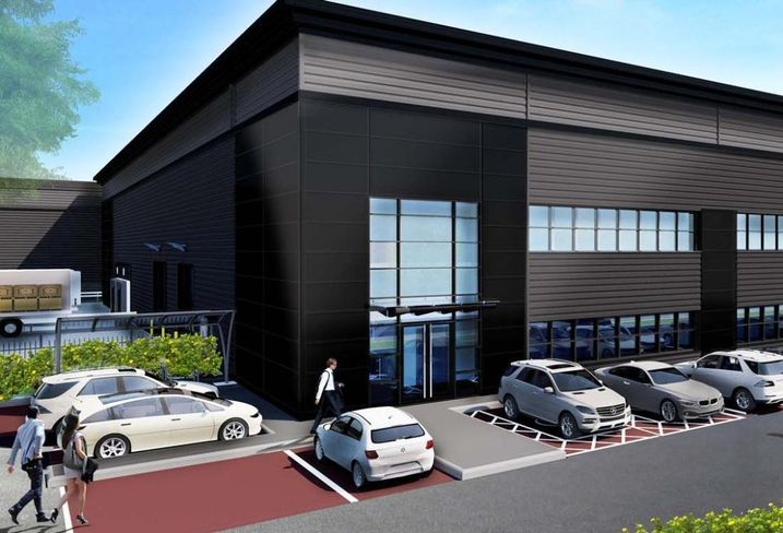 209K SF Connexion Buildings, a speculative unit at IM Properties' Blythe Valley Park