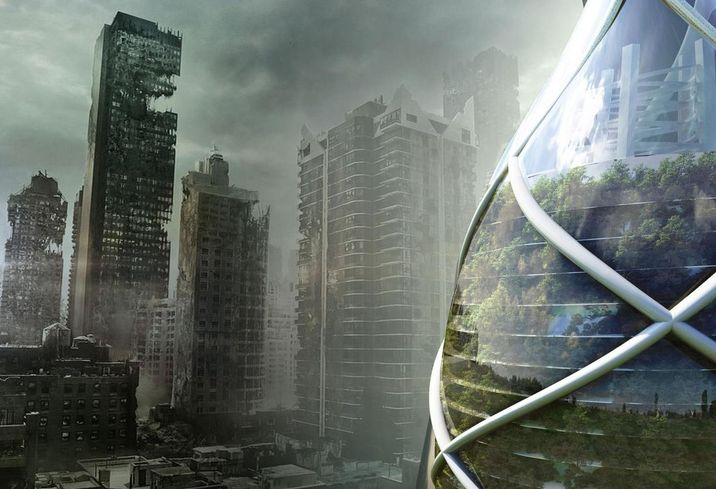 By 2050, Buildings Of The Future Could Defend Human Life During Extreme Conditions