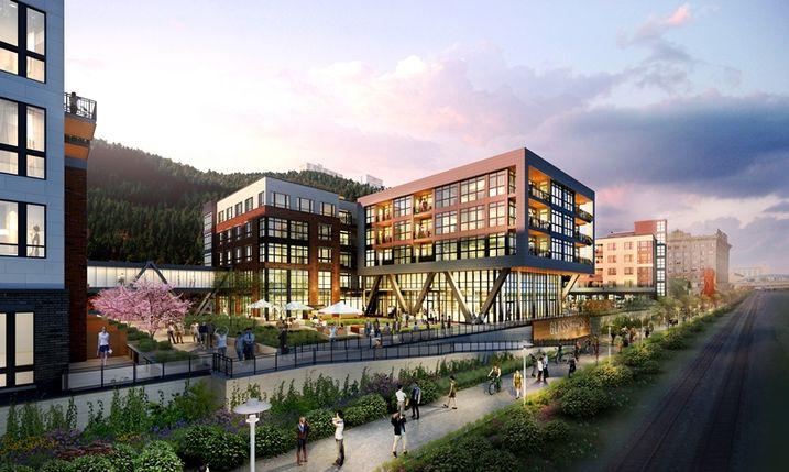 Glasshouse development, Pittsburgh