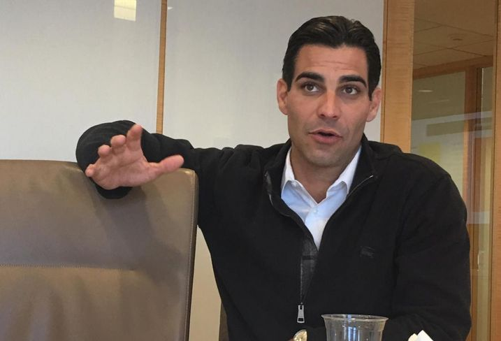 Miami mayor Francis Suarez is also a real estate attorney at Carlton Fields.