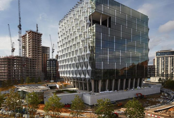 Spy-Proof Materials And A Moat — The New $1B U.S. Embassy Opens In London