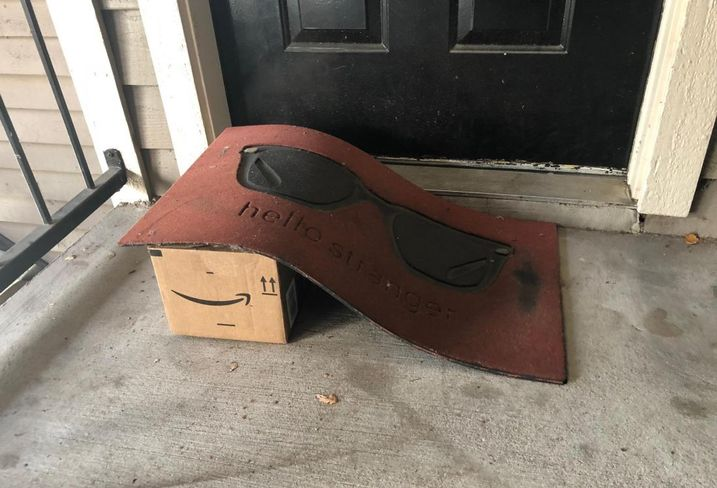 Hiding A Package From Porch Pirates