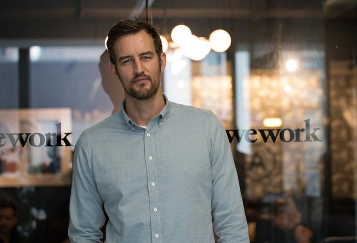 WeWork co-founder Miguel McKelvey