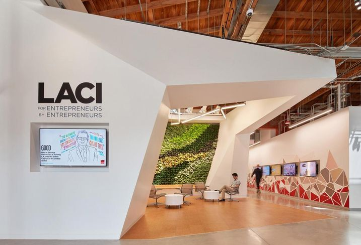 As part of the Innovation Leaders's Los Angeles Field Study, the group toured the Los Angeles Cleantech Incubator. The event looked into how companies are using location and creative office design to attract, keep and inspire workers.