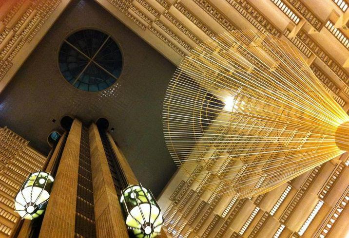 Atrium portman