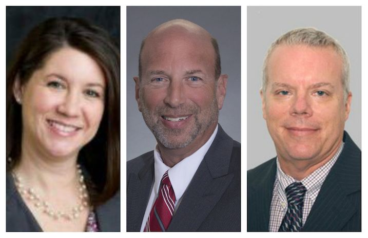 From left: Julie Fugitt-Schultz, James Andrews and Jeff Greenwald will lead Integra Realty Resources newly launched hospitality practice IRR Hotels.