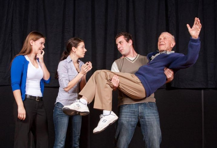 Cal Lutheran University's Theater Arts Department partnered with the local senior community to produce a dark comedy.