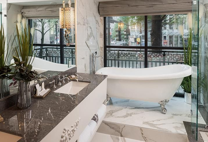 Over the summer, The Ivey's Hotel opened at 127 N. Tryon St. after spending $20M to renovate the former J.B. Ivey & Company Department Store.