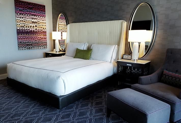 Kimpton Tryon Park Hotel, attached to 300 South Tryon, opened in November with 217 guest rooms.