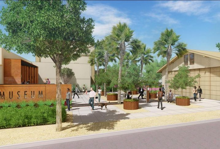 Chapman University's will convert a 99-year-old former fruit packinghouse into a museum, student services center, and classrooms/offices for the school.