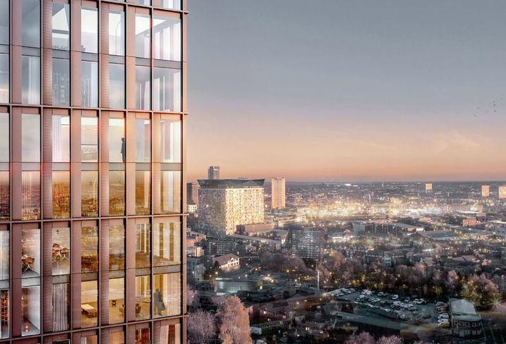 Moda Living's 42 storey tower for Broad Street Birmingham