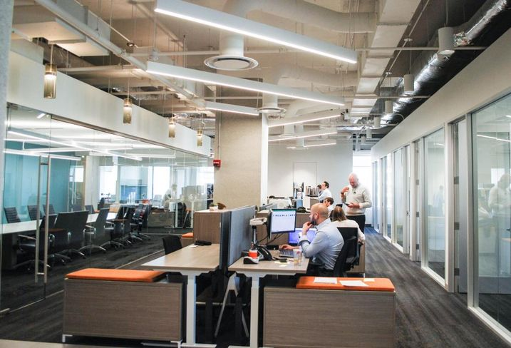 Co-Working's Influence Is Now Everywhere In Office Space