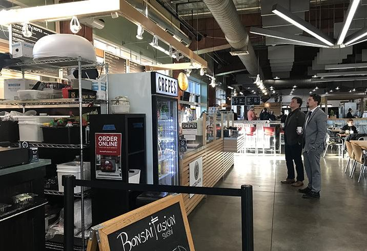 7th Street Public Market is a nonprofit small-business incubator with space as small as 126 SF.