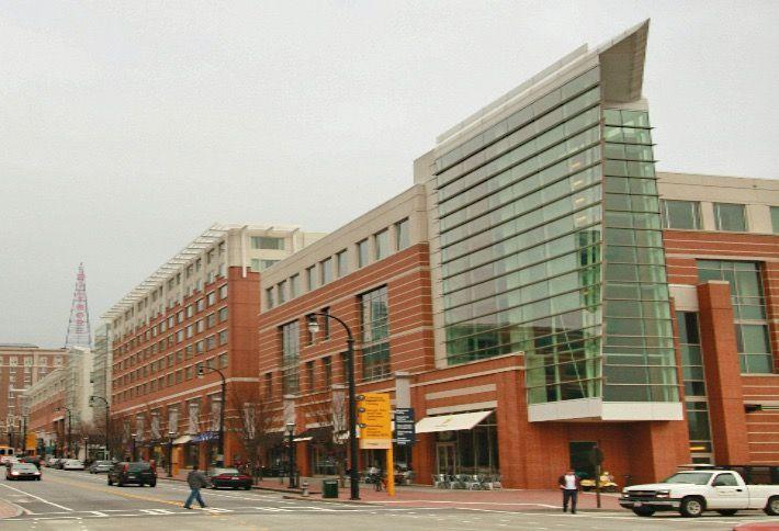 Georgia Tech's Technology Square in downtown Atlanta, Georgia