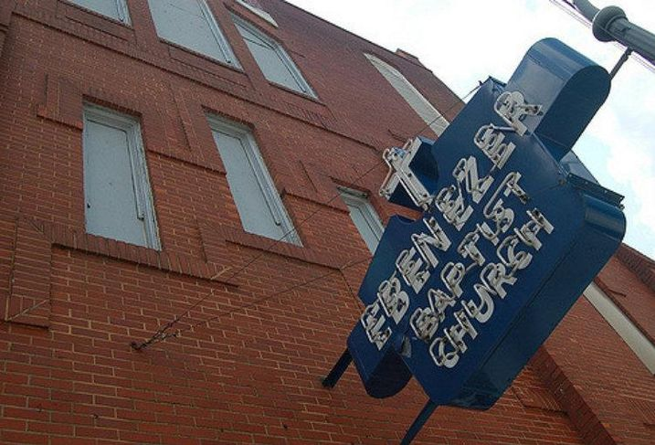 Ebenezer Baptist Church in Atlanta.