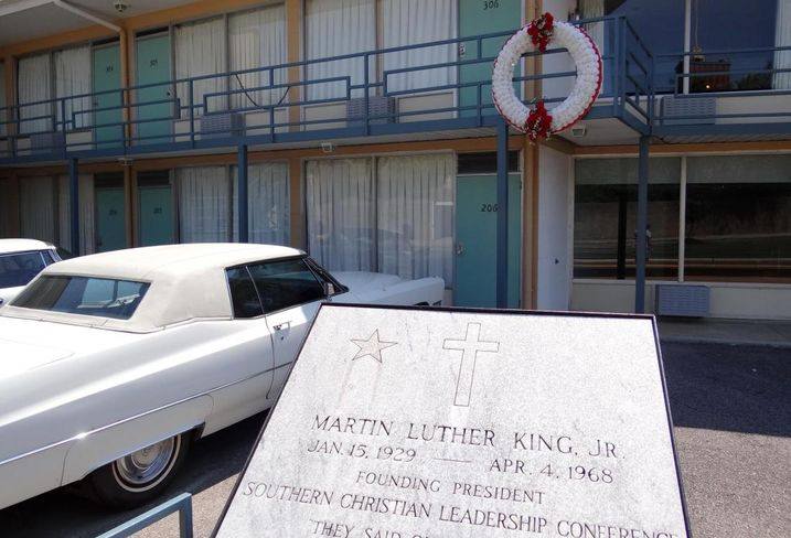 Lorraine Motel in Memphis where Martin Luther King Jr. was shot.