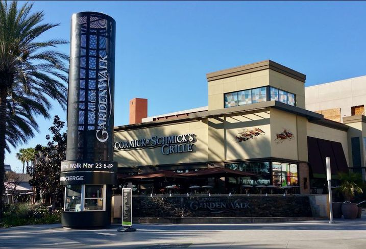 Arcturus Group has put the Anaheim GardenWalk up for sale. CBRE is the listing agent.