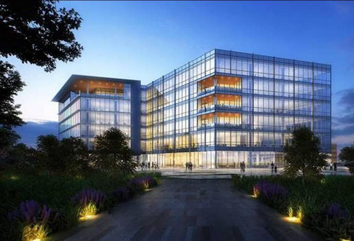 Independent Bank Group HQ rendering