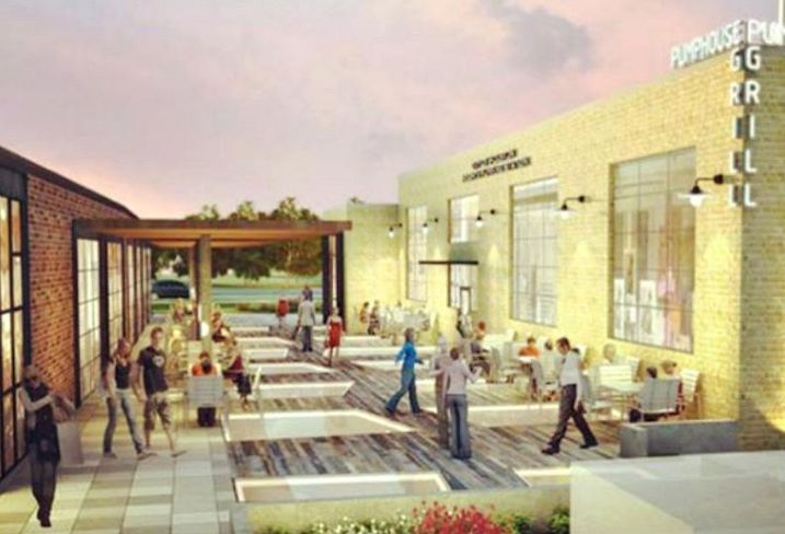 Heights Pumping Station Redevelopment Rendering