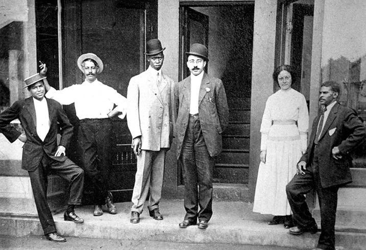 Business leaders in Brooklyn in the early 1900s