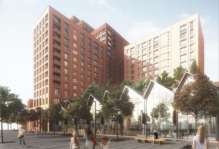 Prosperity Capital Partners plans for the Boddingtons Brewery site Manchester Feb 2018
