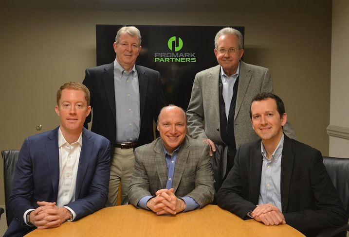 Promark Partners' Pete McLaughlin, Tom Fauquier, Greg Klein, Bob Eisinger and Rob Eisinger
