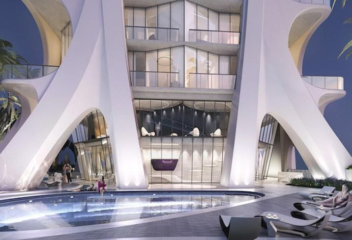 Zaha Hadid's One Thousand Museum Tops Off In Miami
