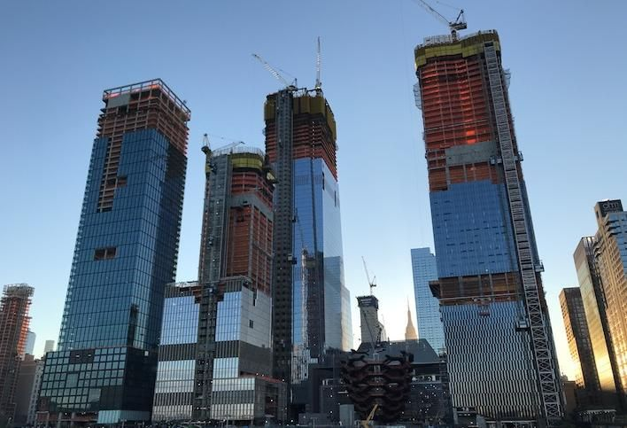 Related Sues Hudson Yards Construction Team Over $42/Hour 'Coffee Boy'