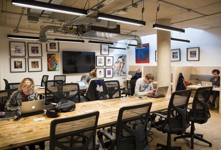 Work.Life's London Fields office Feb 2018