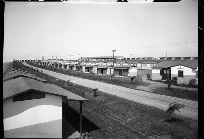 The 1932 Olympic Village was in View Park-Windsor Hills area of Los Angeles. The street was later named Olympiad Avenue.