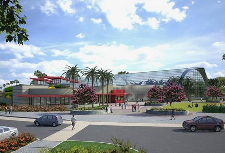 A rendering of the Butterfly Palladium in Buena Park, Ca.