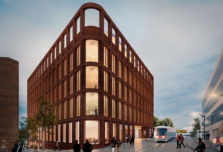 The 50K SF i9 speculative office development planned for Wolverhampton Feb 2018