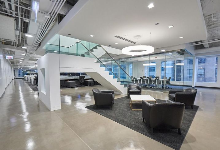 BEAR Construction Brings Modern Design And Openness To Cortland Office Renovation