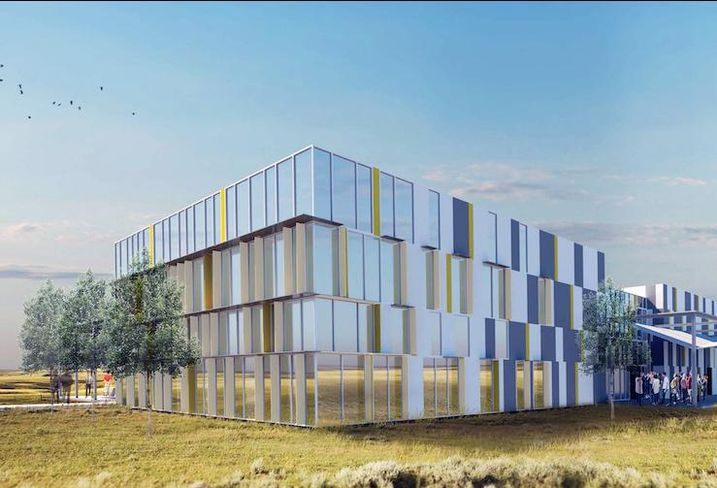 DynaEnergetics manufacturing facility rendering