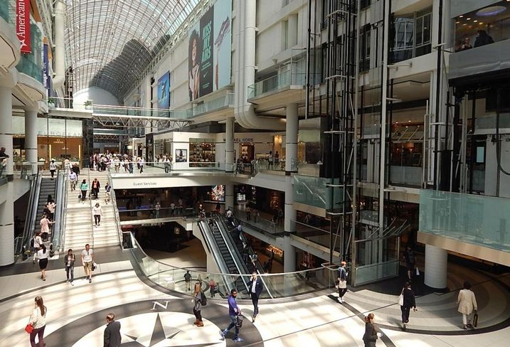 Eaton Centre Cadillac Fairview CBRE report a