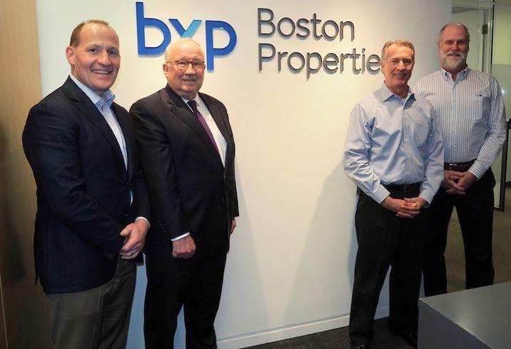 Boston Properties Pete Otteni, Ray Ritchey, Jonathan Kaylor and Peter Johnston