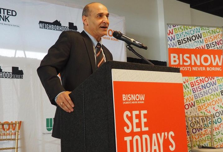Arlington Economic Development Director Victor Hoskins