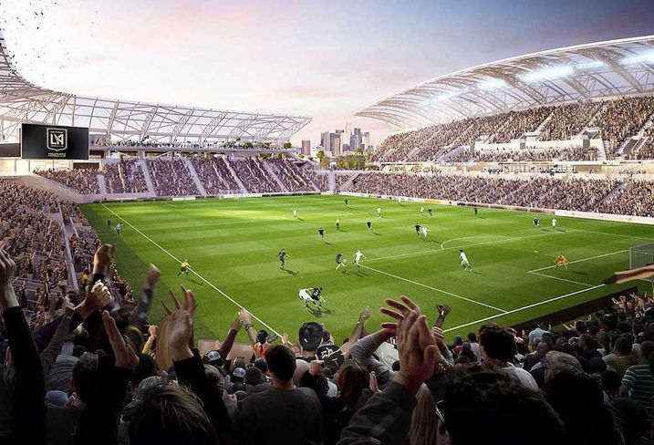 Bank of California Stadium Los Angeles Football Club