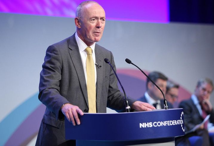 Sir Richard Leese, leader of Manchester City Council, September 2017