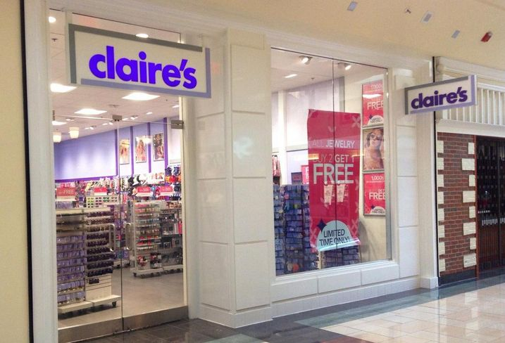 Claire's Nears Bankruptcy, Reshuffles Stores Away From Malls