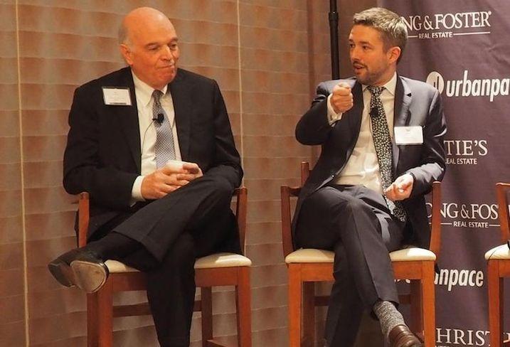 EWM Realty International CEO Ron Shuffield, Urban Pace President Clint Mann
